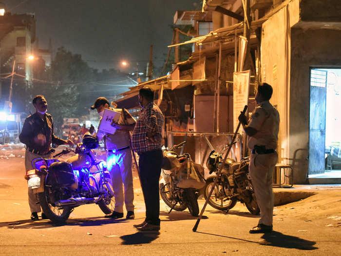 coronavirus night curfew panic and confusion in people