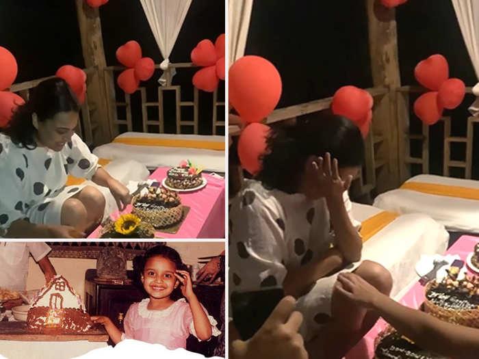 swara bhaskar cake cutting video