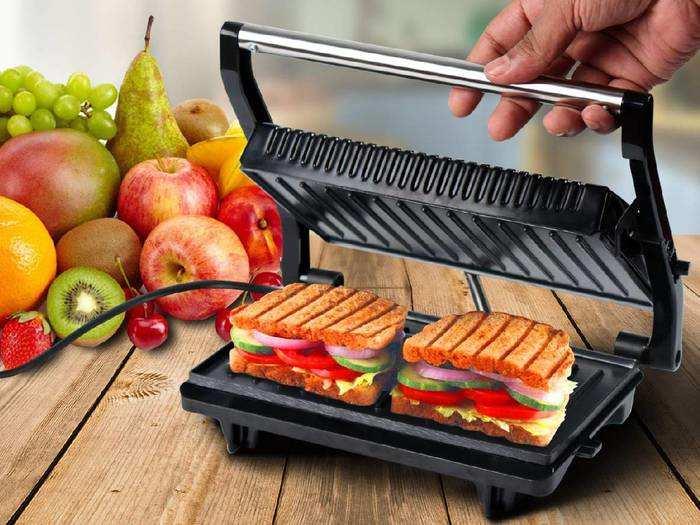 टेस्टी और हेल्दी सैंडविच का लुफ्त उठाना है तो आज ही Amazon से ऑर्डर करें ये Sandwich Maker