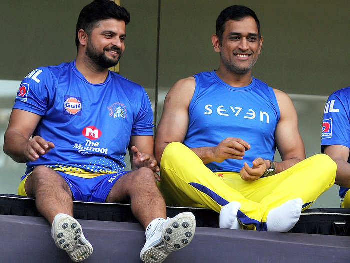 ms dhoni and suresh raina play together after 699 days as chennai super kings face delhi capitals in 2nd match ipl 2021