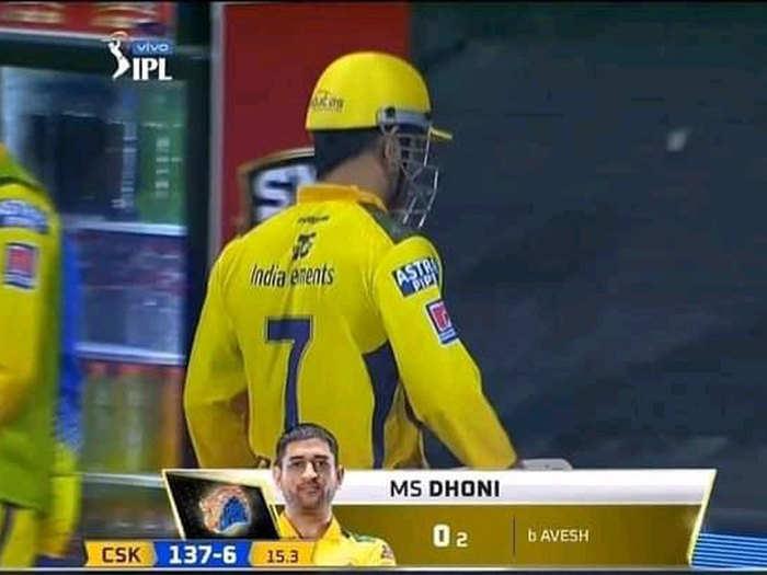 MS Dhoni ducks in IPL: एमएस धोनी ने पहले मैच में किया फैंस को निराश, दिल्ली कैपिटल्स के खिलाफ नहीं खोल सके खाता