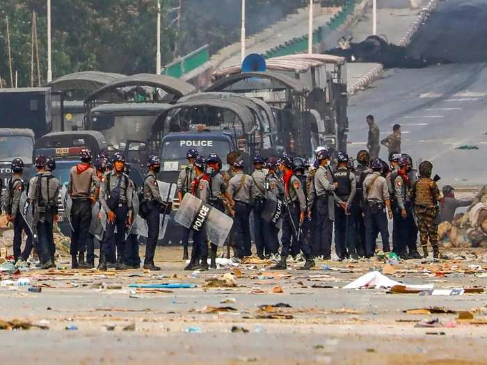 Myanmar Coup latest 0991