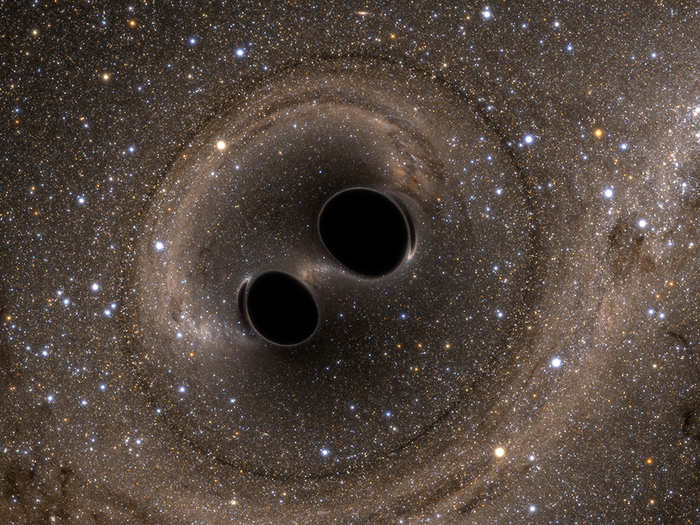 how fast is the universe expanding can be calculated through hubble constant on ligo gravitational waves detection from black hole collision