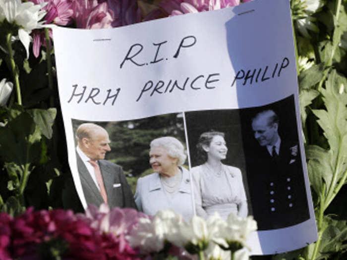 प्रिंस फिलिप के निधन पर शोक