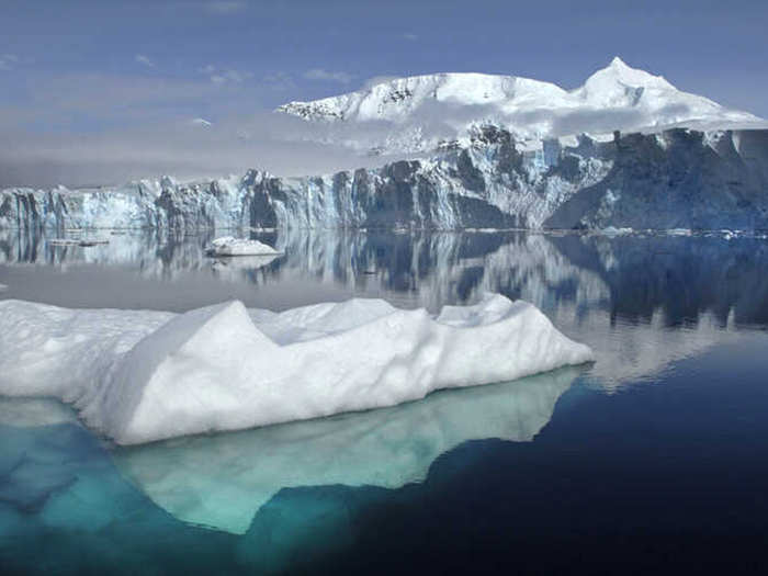 ​climate change in antarctica could risk more than one third of ice shelves