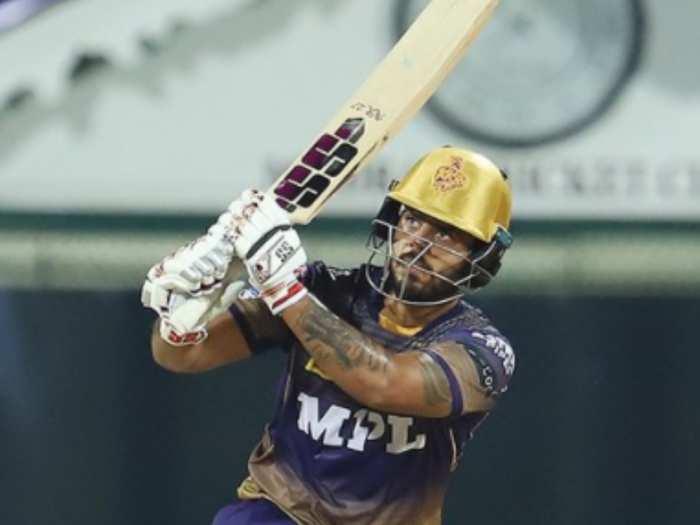 nitish rana scores 80 runs against srh in ipl 2021 twitter hails