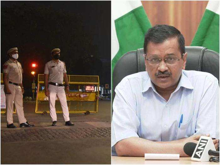 delhi pre lockdown restricions and guidelines announced by arvind kejriwal govt