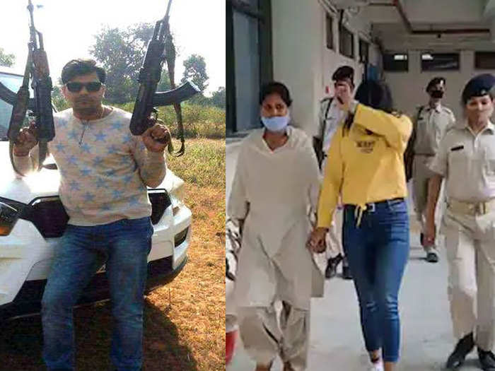 jharkhand latest news: gangster sujit sinhas girlfriend priyanka arrested, bca pass girl demanded extortion from businessmen