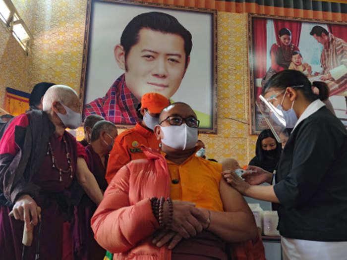 bhutan corona