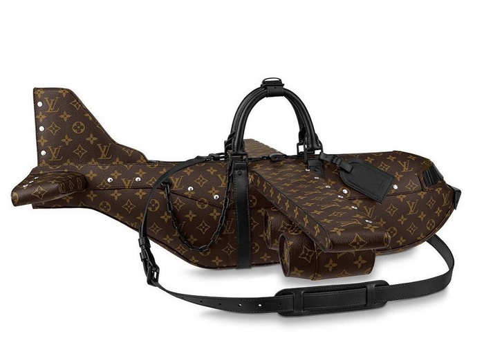 Airplane bag by Louis Vuitton.