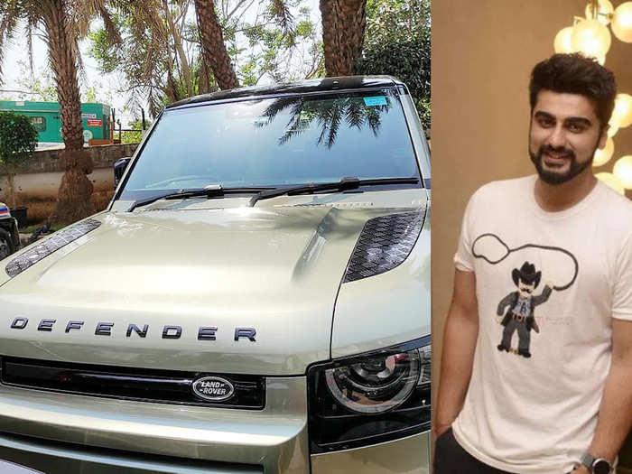 Arjun kapoor new car Land Rover Defender