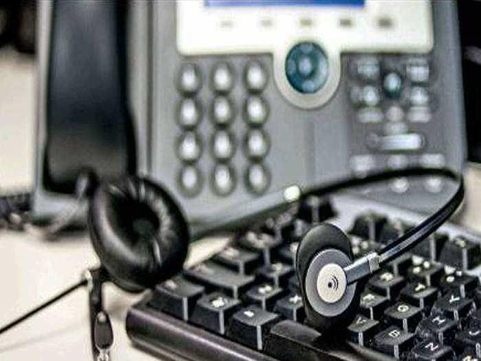 fake call centre