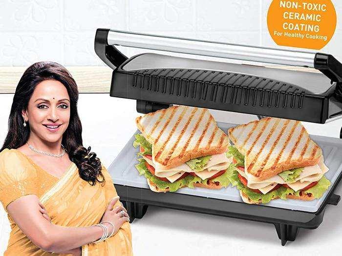 टेस्टी और हेल्दी सैंडविच तैयार करने हैं तो खरीदें ये Sandwich Maker, कीमत मात्र 1,057 रुपए