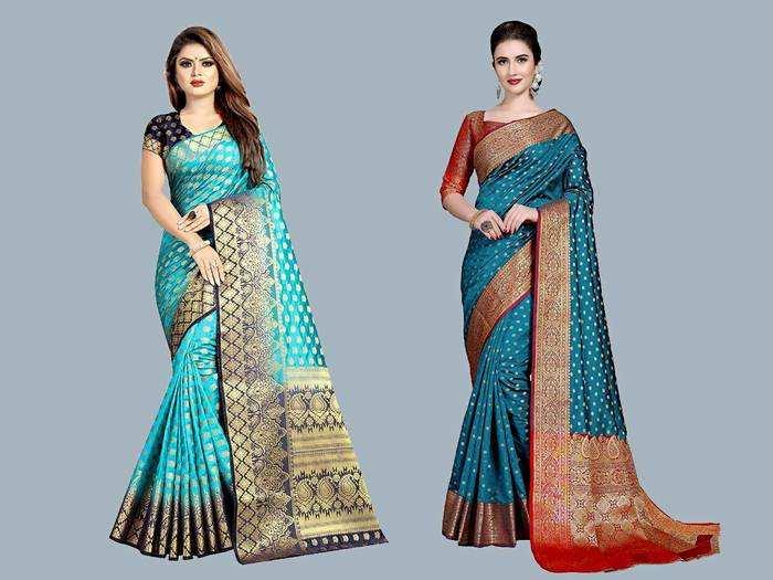 Banarsi Saree : 1,099 रुपए में बेहद खूबसूरत Saree, घर बैठे करें ऑर्डर