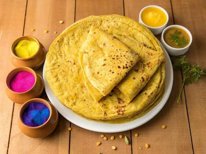 should pregnant woman eat puranpoli and its benefits in marathi