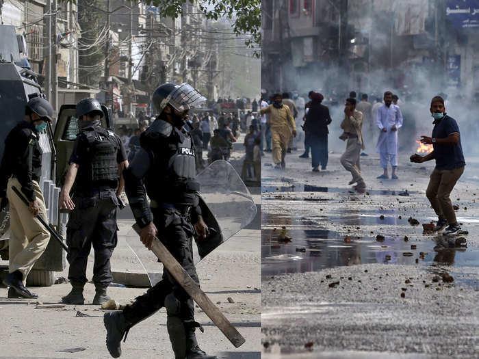 Tehreek-i-Labbaik Pakistan protest