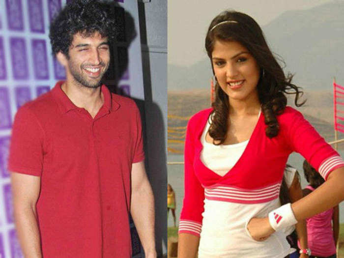 rhea chakraborty agreed for kissing scene to take revenge from aditya roy kapur