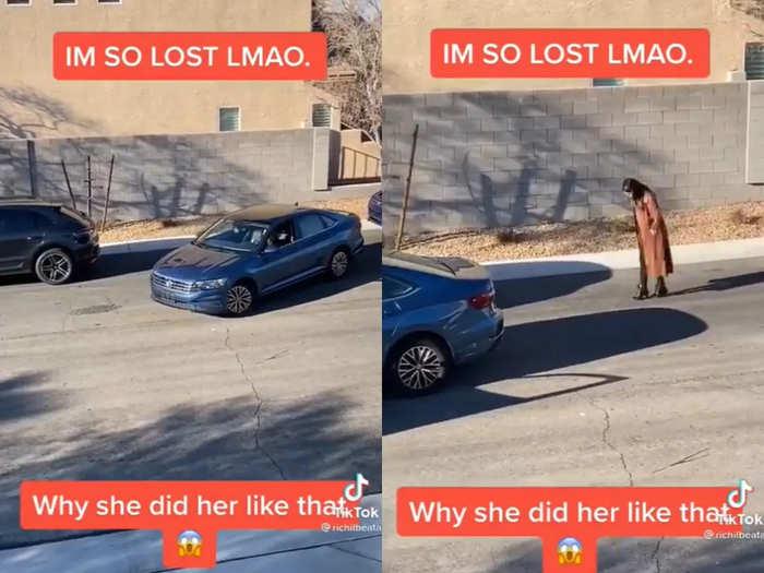 Parallel parking failure