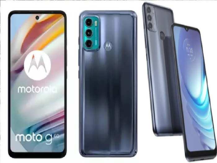 Motorola Moto G60 and G40 Fusion Launch Specs