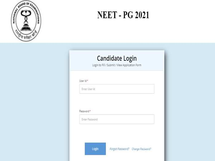 NEET PG Admit Card 2021