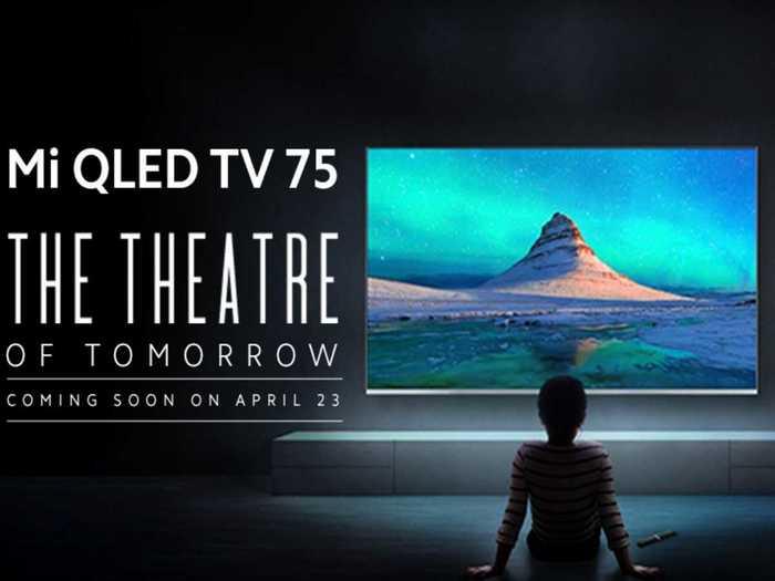 Mi QLED TV 4K 75 inch