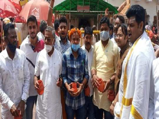 congress mla irfan ansari called himself a devotee