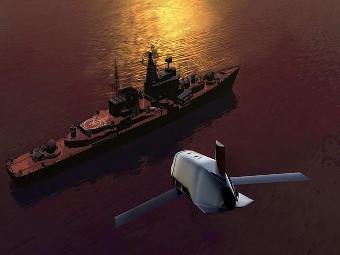 US Navy Anti Ship Missile 01