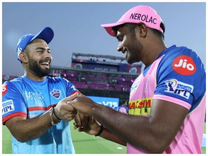 Rishabh Pant with Sanju Samson (twitter)