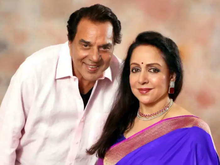 hema malini talked of her relationship with step son sunny deol and bobby deol