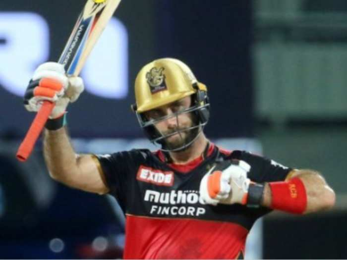 srh vs rcb glenn maxwell hits half century for rcb against srh in ipl 2021 6th match fans trolls priety zinta punjab kings