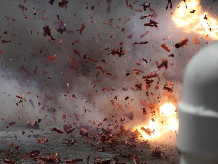 Kannur Bomb Blast