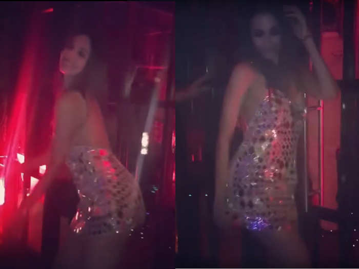 Malaika Arora throwback dance video