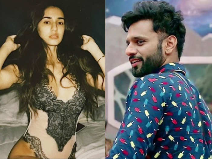 rahul vaidya comment on disha patani hot and sizzling pictures connecting to girlfriend disha parmar grabs attention