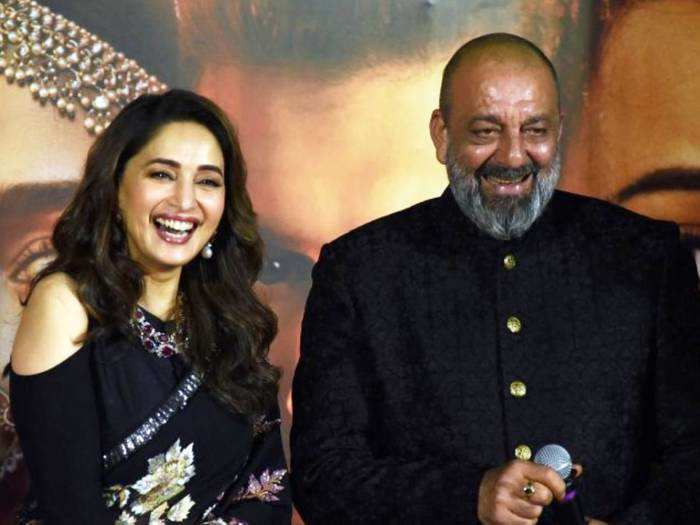 madhuri dixit-sanjay dutt alleged love affair and richa sharma reaction and the problem of over-friendliness