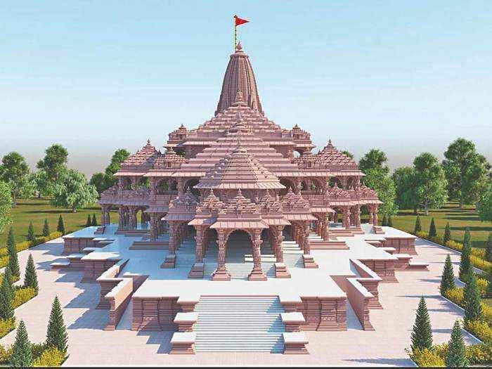 Ram Mandir construction in Ayodhya
