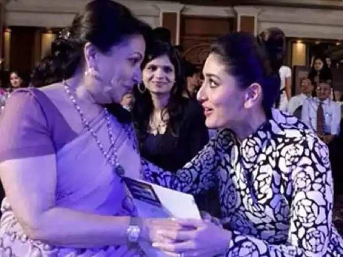 शर्मिला टागोर यांच्याशी बोलताना भीती वाटते करिनानं सांगितलं कसा आहे सासूचा स्वभाव