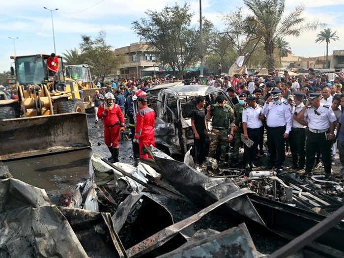 बगदाद में विस्फोट