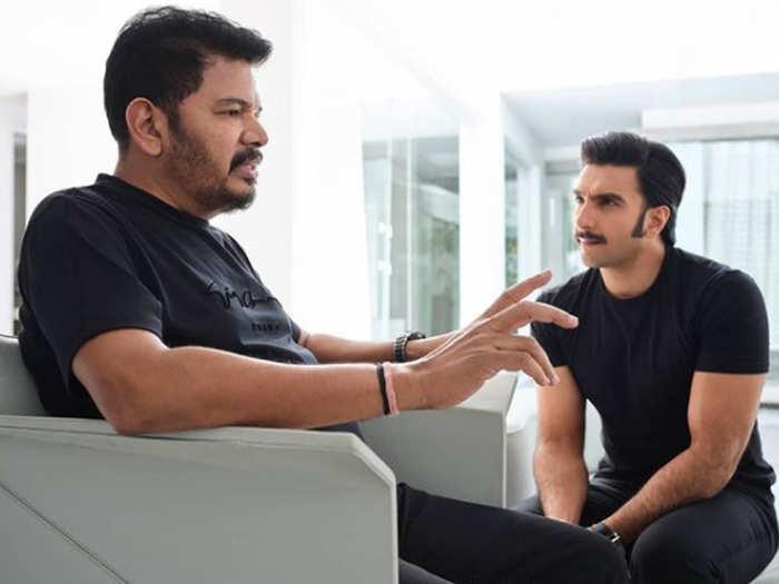 Director Shankar And Ranveer Singh