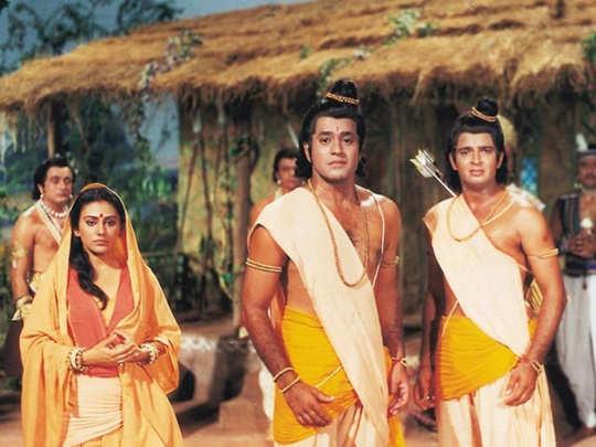 ramayan returns to tv screens: Ramayan Returns To TV Screens - Navbharat  Times