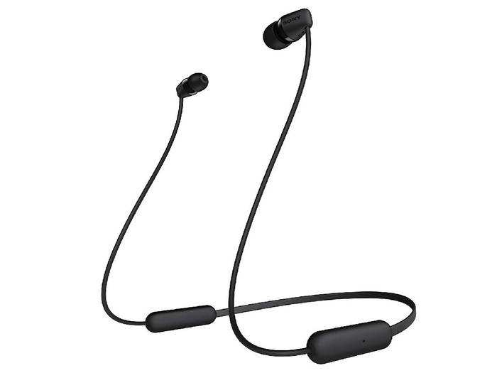 Sony WI-C200 Wireless In-Ear Headphones with 15 Hours Battery Life, Quick Charge, Magnetic Earbuds for Tangle Free Carrying,Metallic Finish, Bluetooth ver 5...