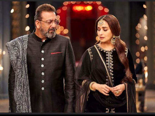 why was madhuri dixit responsible for the breakup of sanjay dutt and richa sharma in marathi
