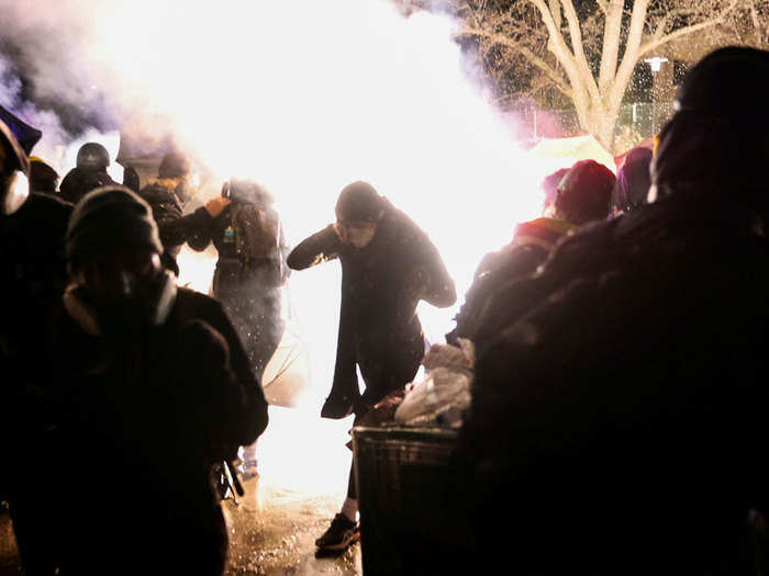 minnesota police shooting of black youth sparks protests