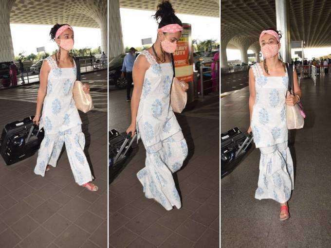 तापसी पन्नू का फैशन फेल