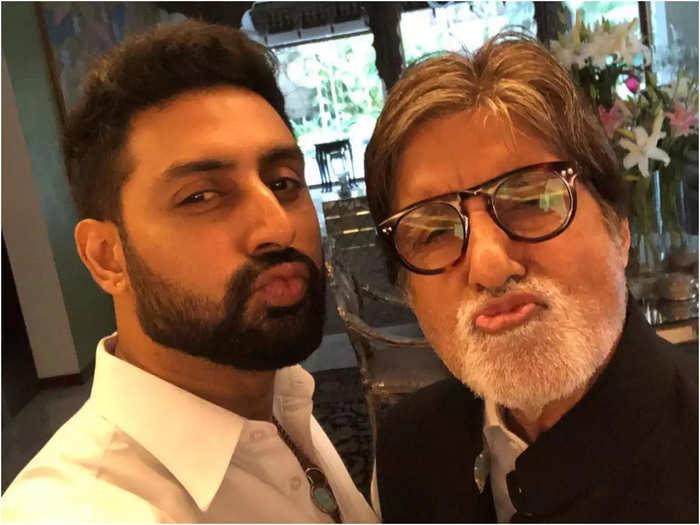 Amitabh Bachchan praises Abhishek for his role in The Big Bull