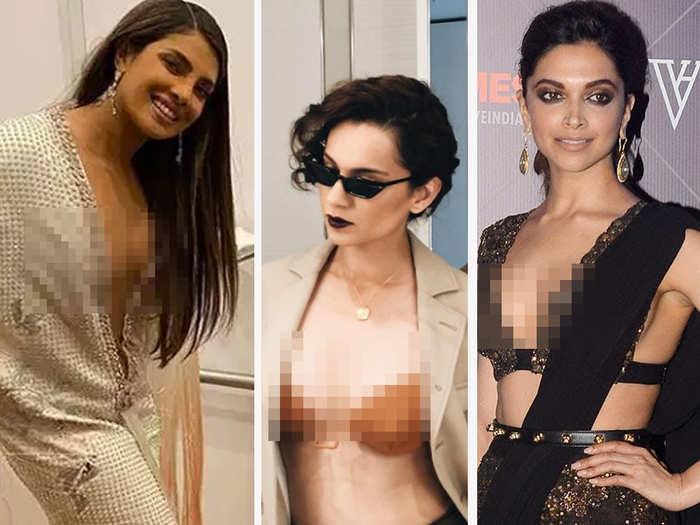 from kangana ranaut to priyanka chopra deepika padukone disha patani sonam kapoor actresses got brutally trolled for revealing outfit