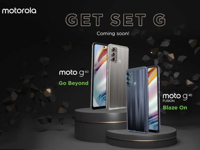 Motorola G60, G40 Fusion