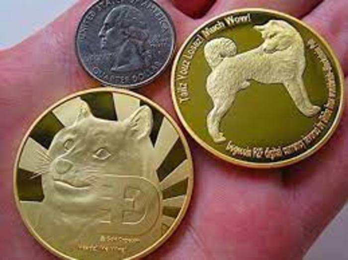 Dogecoin की कीमत में शुक्रवार को 180 फीसदी की उछाल आई।