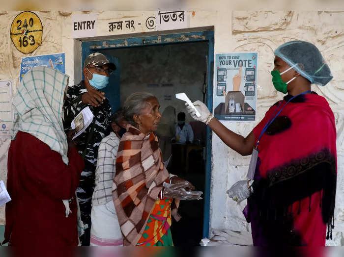 Voting West Bengal