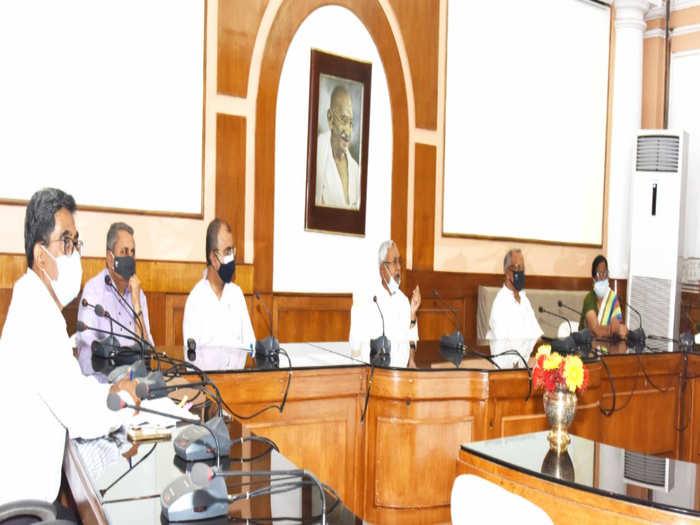 Bihar - Jharkhand Corona Crisis : गहराते कोरोना संकट पर बिहार - झारखंड में सर्वदलीय बैठक
