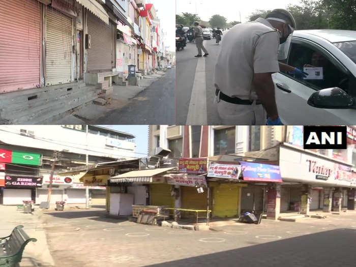 weekend curfew and lockdown in up, delhi, rajasthan ans mp see updates